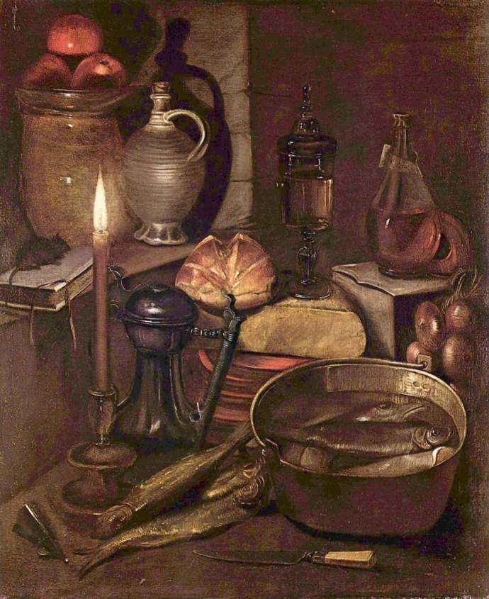 17th century pantry still life