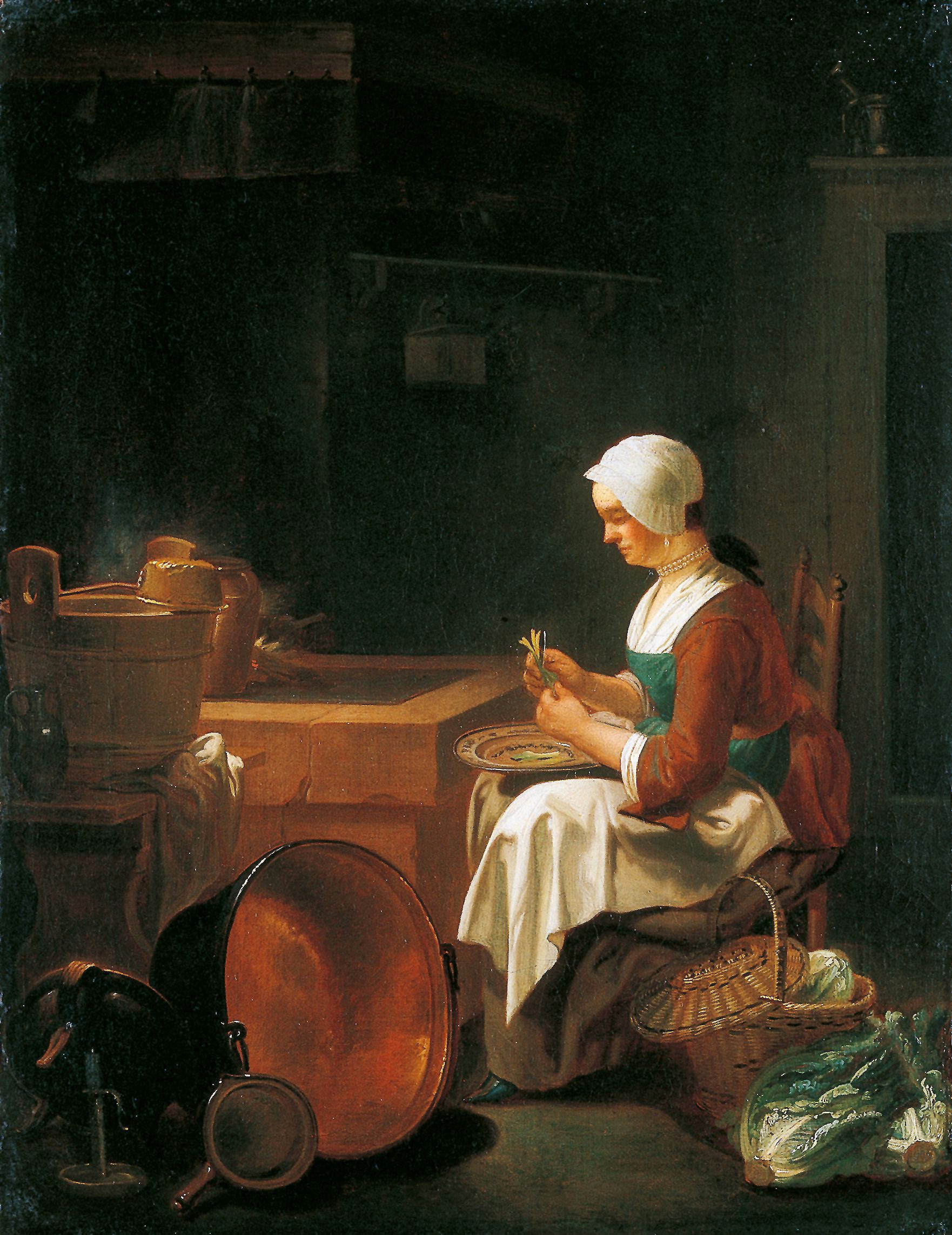 The maid in the kitchen Justus Juncker The Townsends Blog