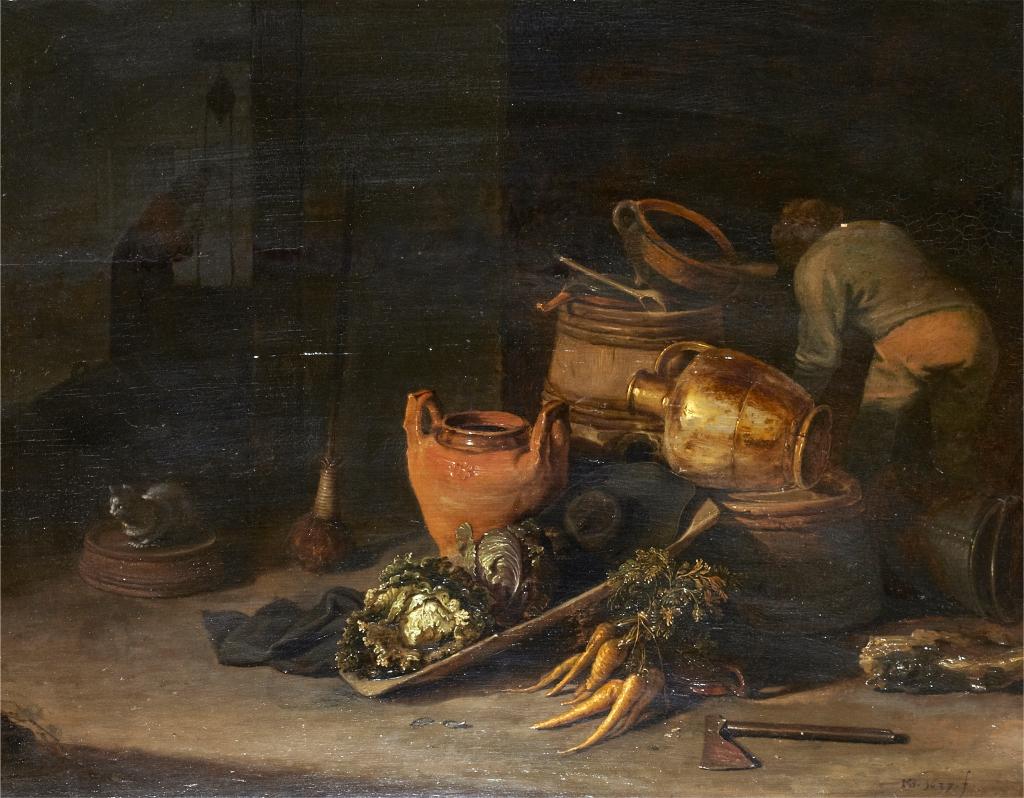 Kitchen Still Life by MB 1637