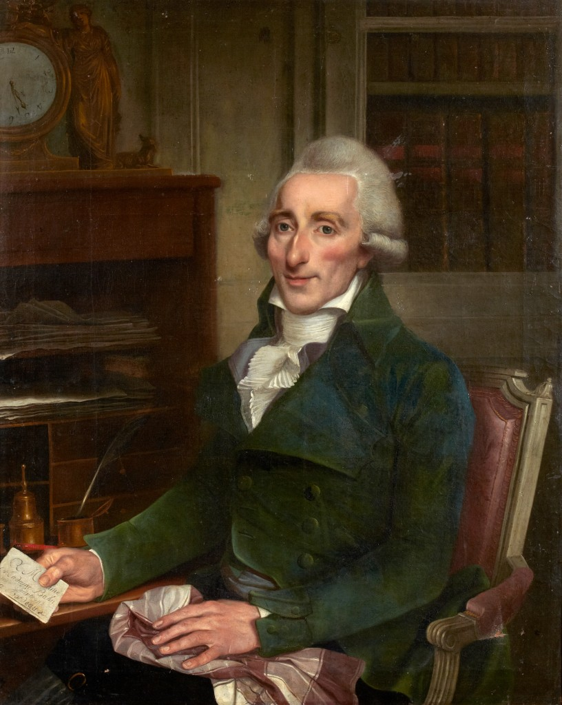 Portrait of Gentleman with Letters_francois louis lonsing (France 1739-1799)_