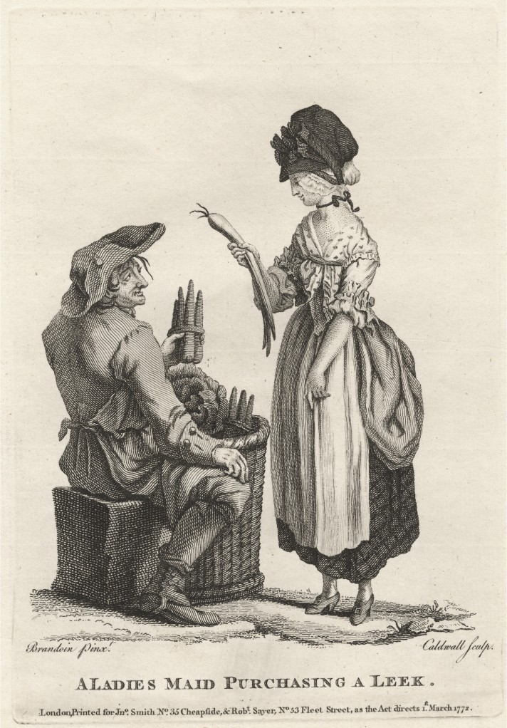A Ladies Made Purchasing a Leek_Caldwall after Brandoin_1772