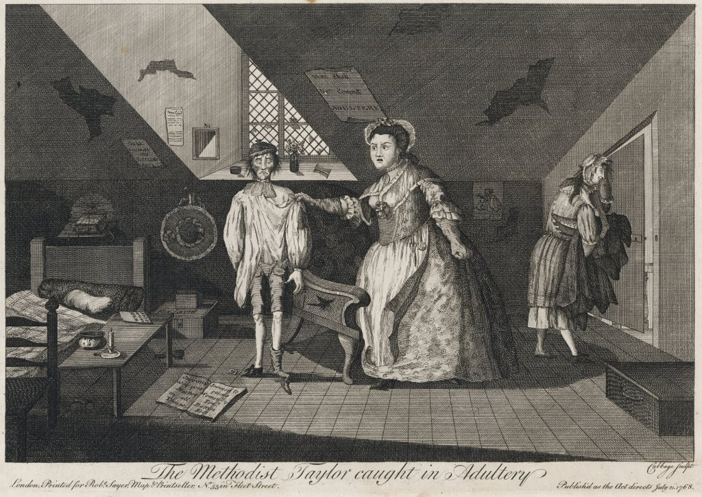 The Methodist Tailor Caught in Adultery_Unknown_1768