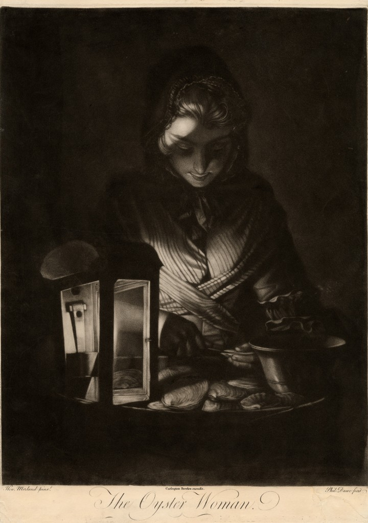 The Oyster Woman - Dawe-Morland-Bowles 1769