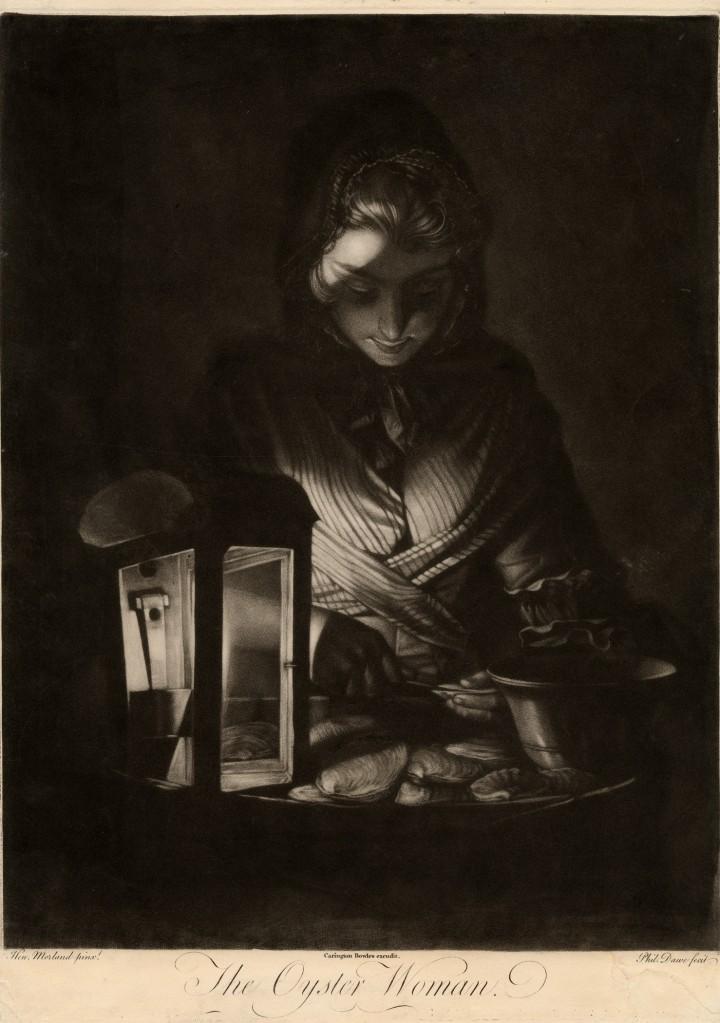 The Oyster Woman - Dawe-Morland-Bowles 1769