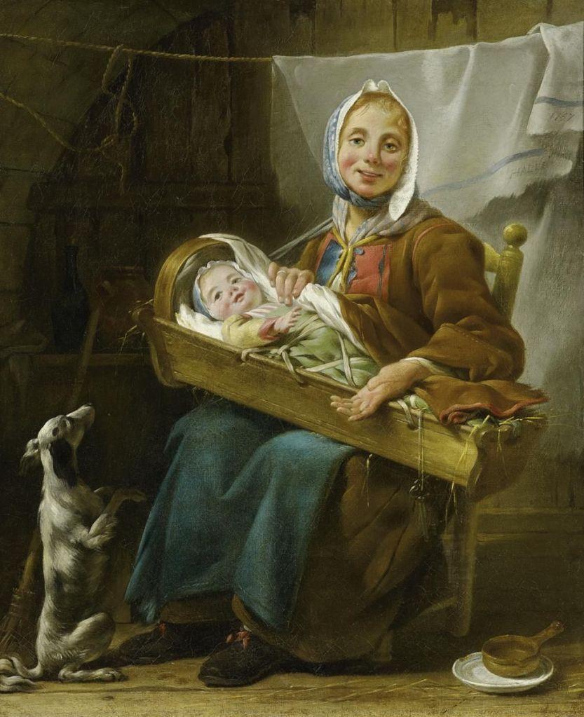 Une Savoyarde_Noël Hallé (1711–1781)_1757