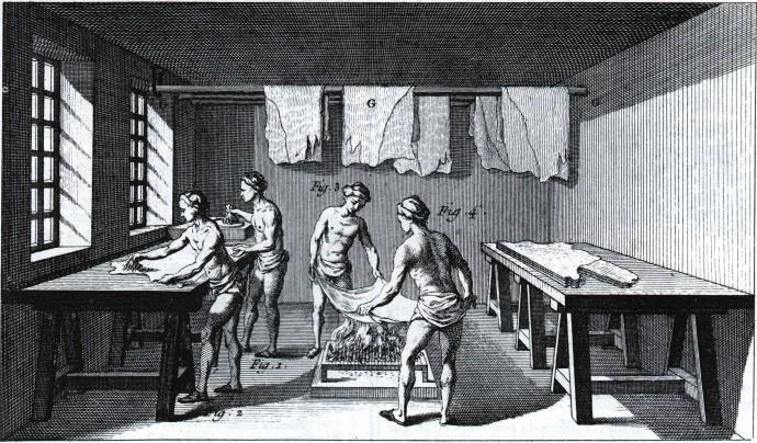 Tanning Diderot 1769