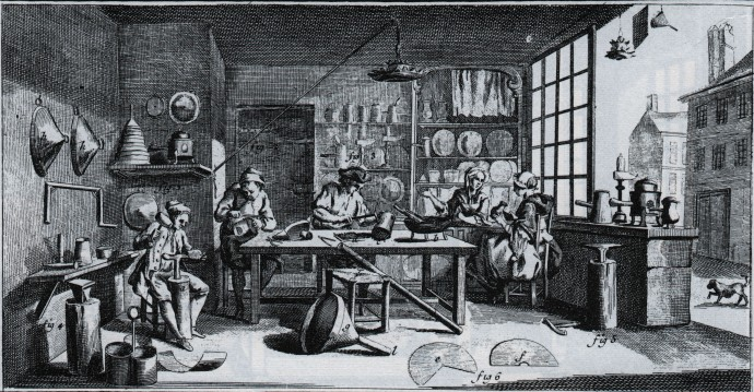 The Tinsmith - Diderot 1763