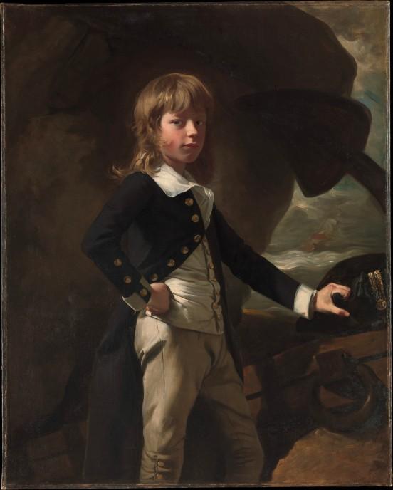 Midshipman Augustus Brine_John Singleton Copley (1738-1815)_1782