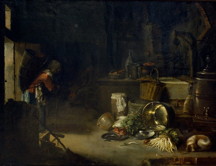 Kitchen Interior_Willem Kalf(1619-1693)_