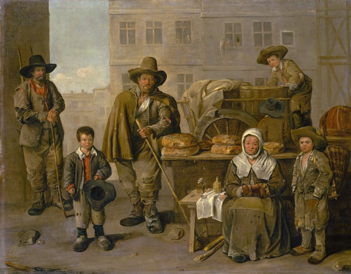 The Bakers Cart_Jean Michelin (1616-1670)_1656