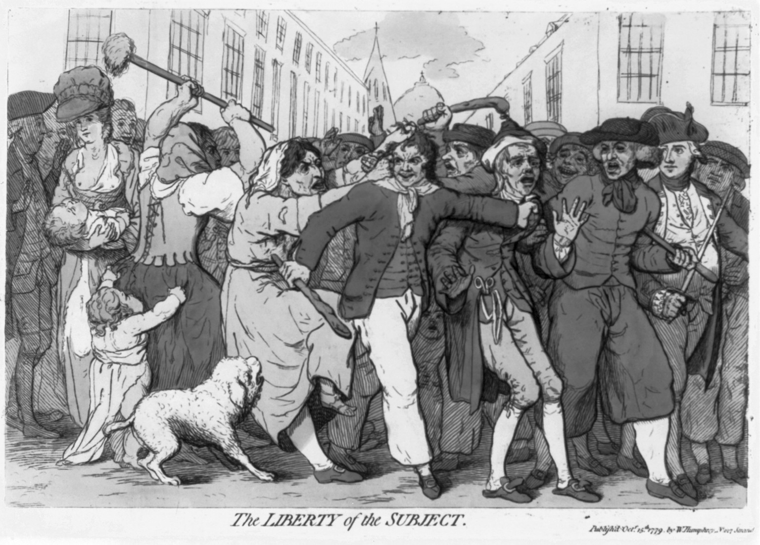 The Liberty Of The Subject Press Gang Humphrey 1779