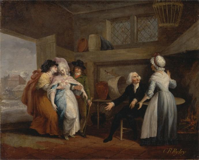 The Return of Olivia_Charles Reuben Ryley(1752-1798)_1786