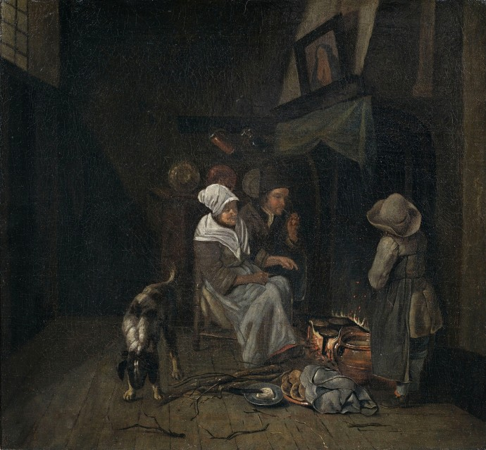 Family in kitchen_Jan Josef Horemans the Elder(1682-1759)_
