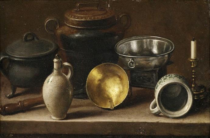 Still Life with Kitchen Utensils_Attributed to Martin Dichtl (1639-1710)_