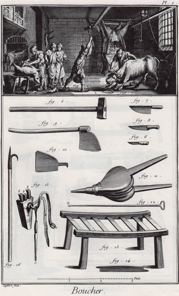 The Butcher_Diderot-Encyclopedia_1763