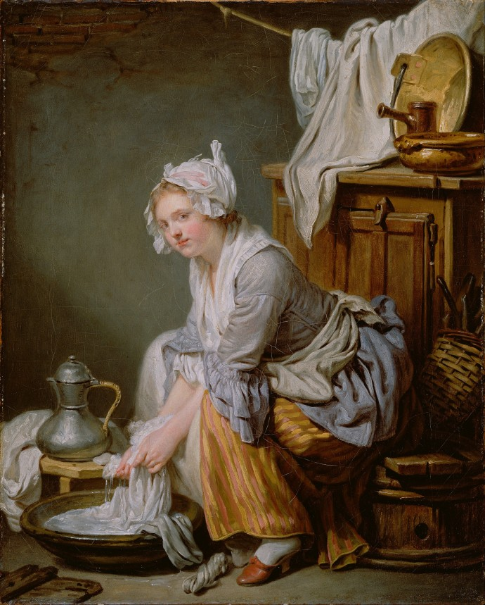 The Laundress_Jean Baptiste Greuze(French1725-1805)_1761