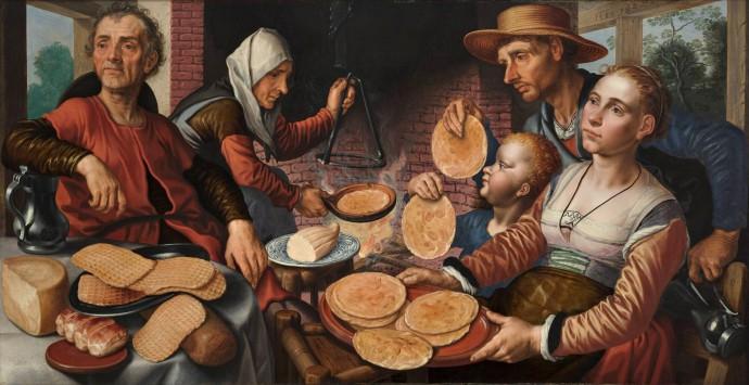 The Pancake Bakery_Pieter Aertsen(1508-1575)_1560