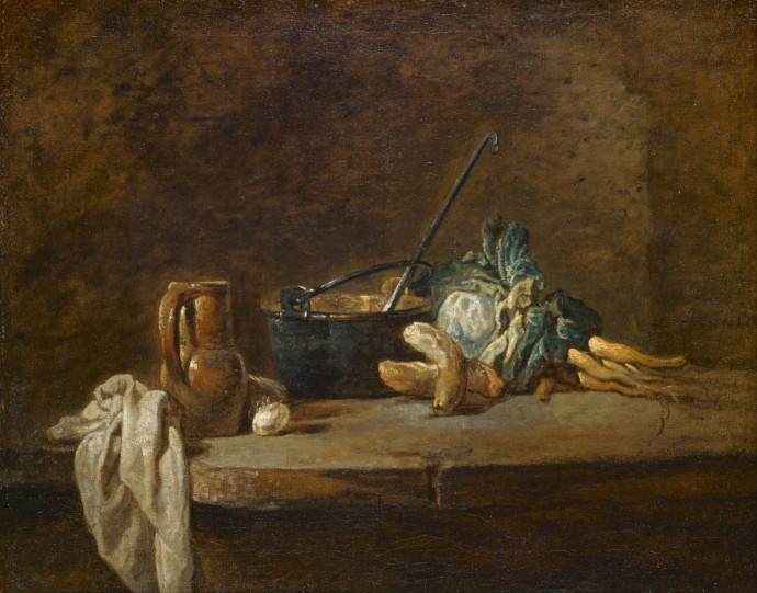 Vegetables for the Soup_Jean-Siméon Chardin (1699-1779)_1732