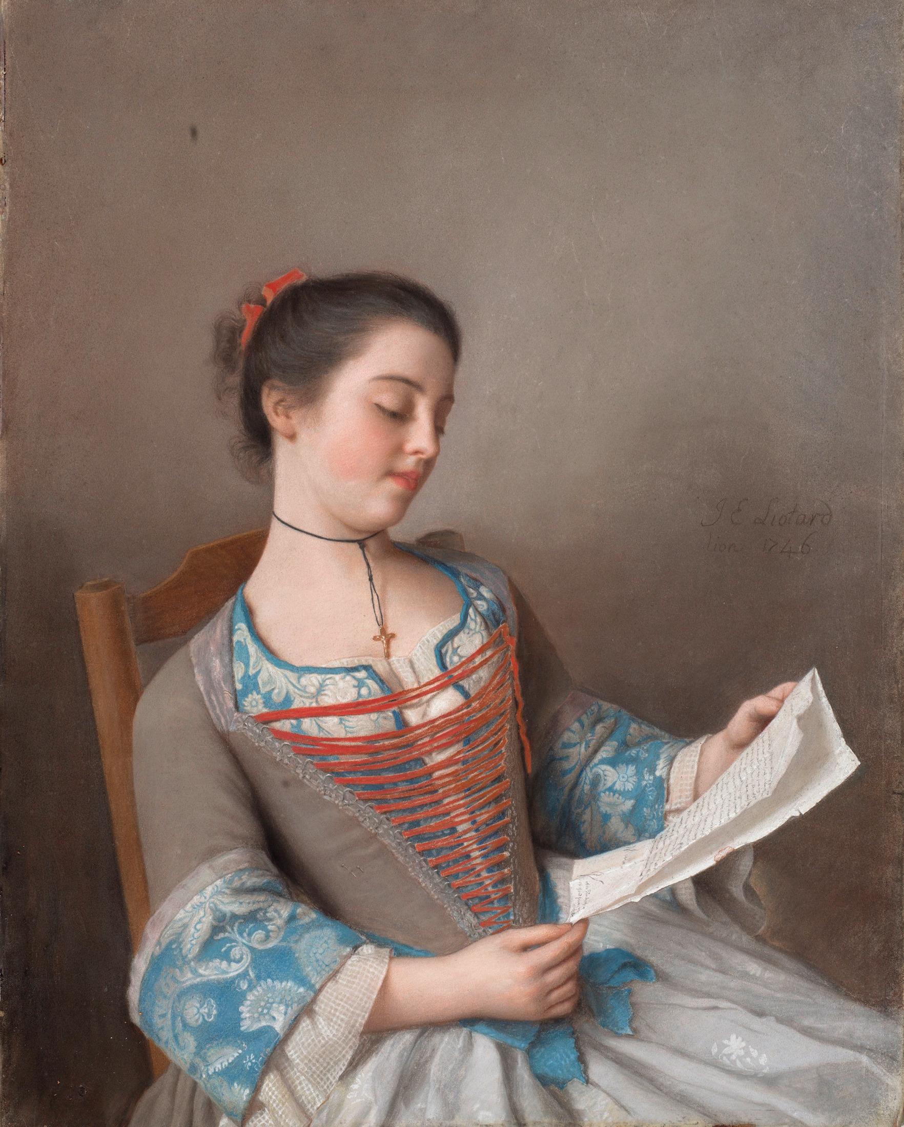 la liseuse the reader by jean tienne liotard 1746 the. Black Bedroom Furniture Sets. Home Design Ideas