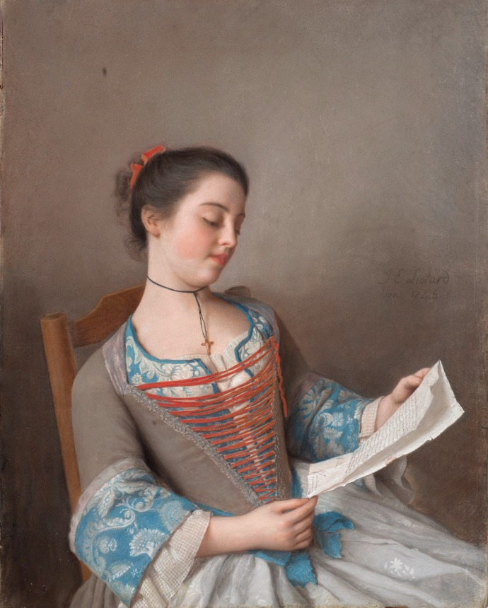 La liseuse (The Reader)_Jean-Étienne Liotard (1702–1789)_1746