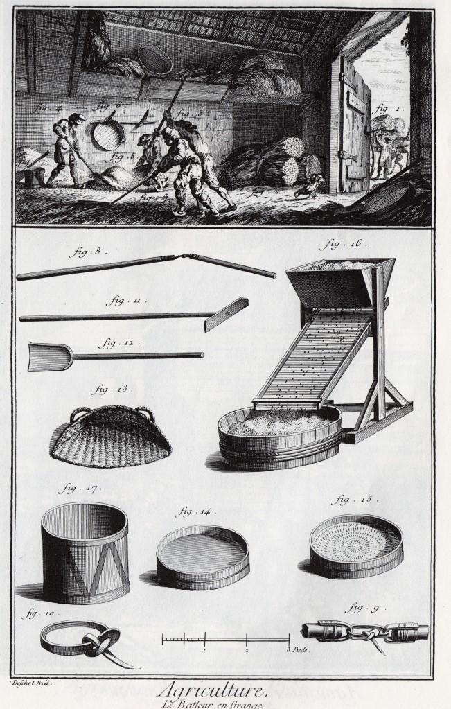 Threshing Grain_Diderot Encyclopedia_1762