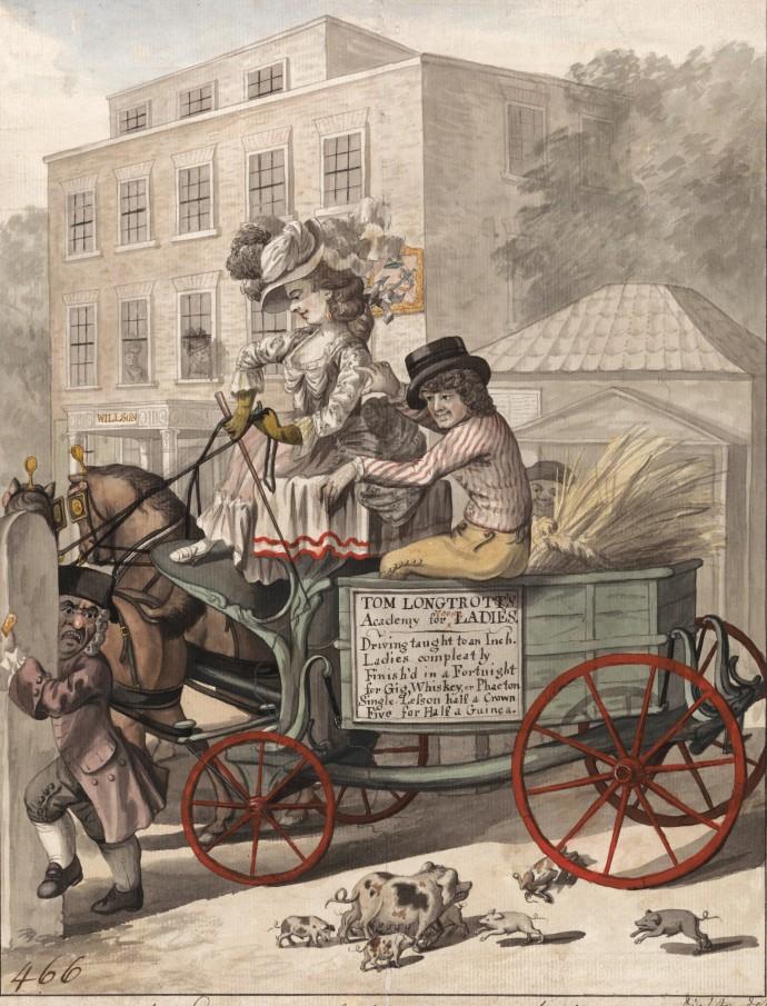 A Lesson Westward_Robert Dighton(1752-1814)_1782