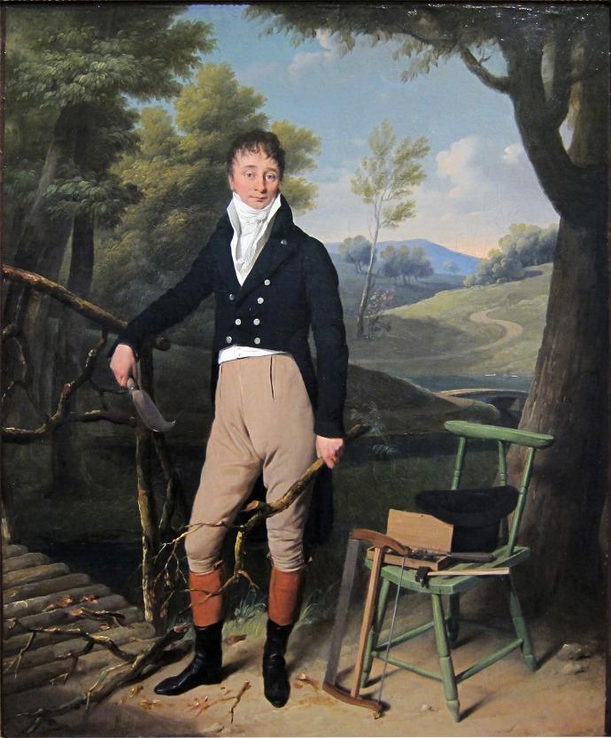 Portrait of Charles d'Aucourt de Saint-Just_Louis-Léopold Boilly (1761–1845)_1800