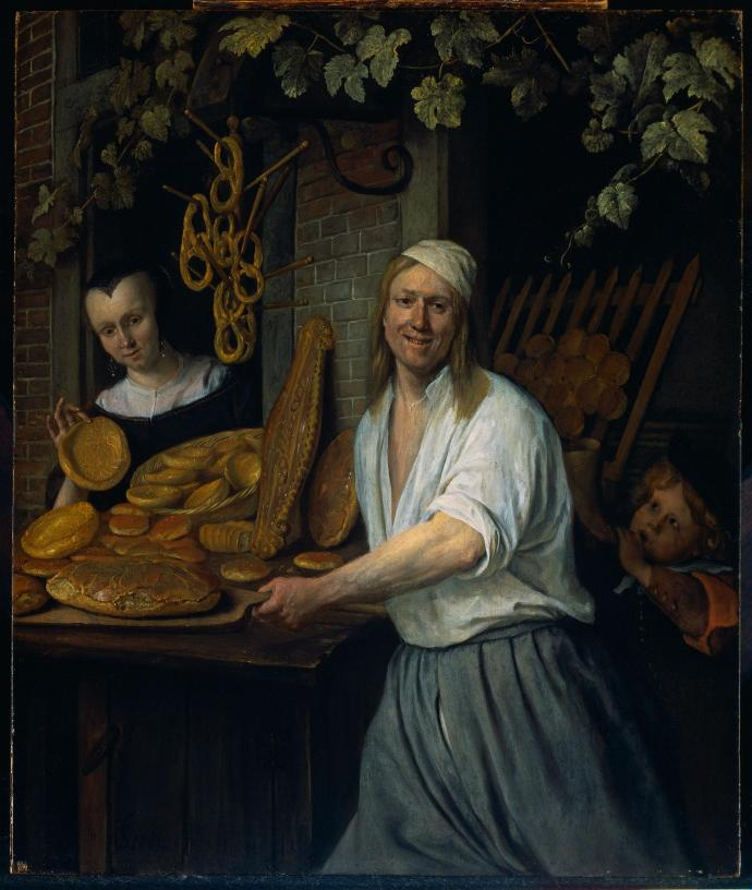 The Baker and His Wife_Jan Steen_1658