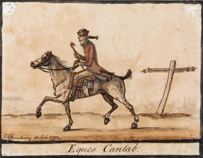 The Sporting Undergraduate_Henry William Bunbury(1750-1811)_1772
