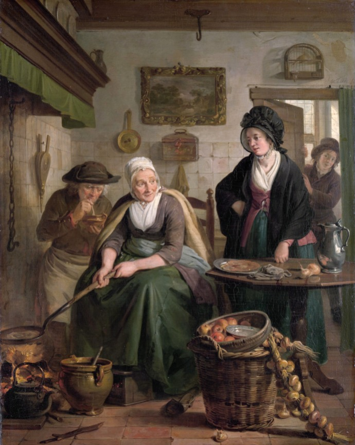 The pancake cook_Adriaan de Lelie(1755-1820)_