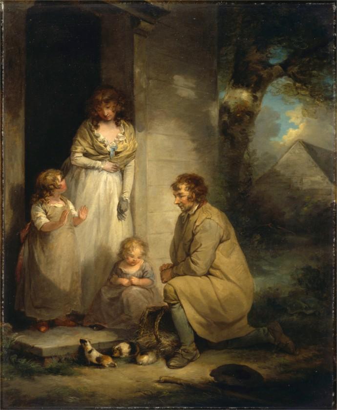 SiftingthepastYCBA_Selling Guinea Pigs_George Morland (1763–1804)_1789