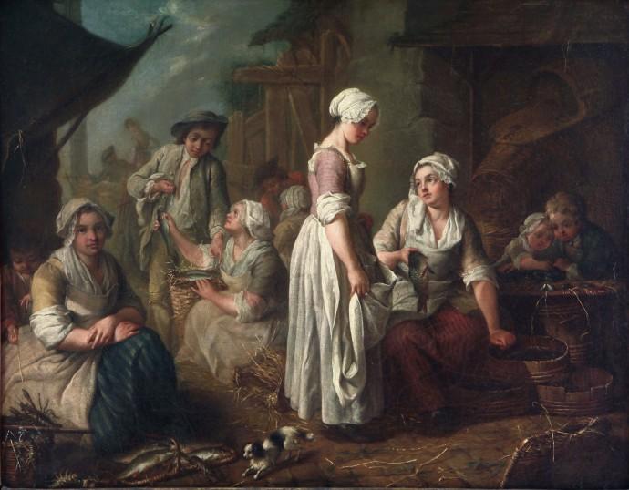 siftingthepast-from Museo Nacional de Bellas Artes_Pescadores_Jean Baptiste Charpentier(1728-1806)_